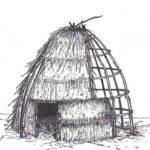 This replica of a Chumash Hut is located in our Native American Center.
